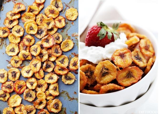 Baked-Banana-Chips