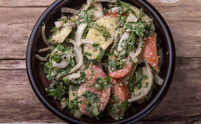 маша котлетка салат